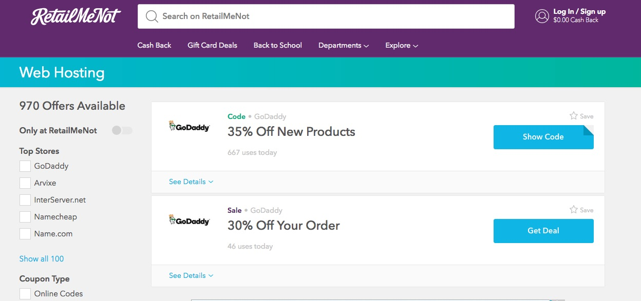 How to Find Discount Coupons on Web Design and Hosting Services